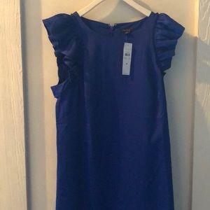 Ann Taylor Blue Dress NWT